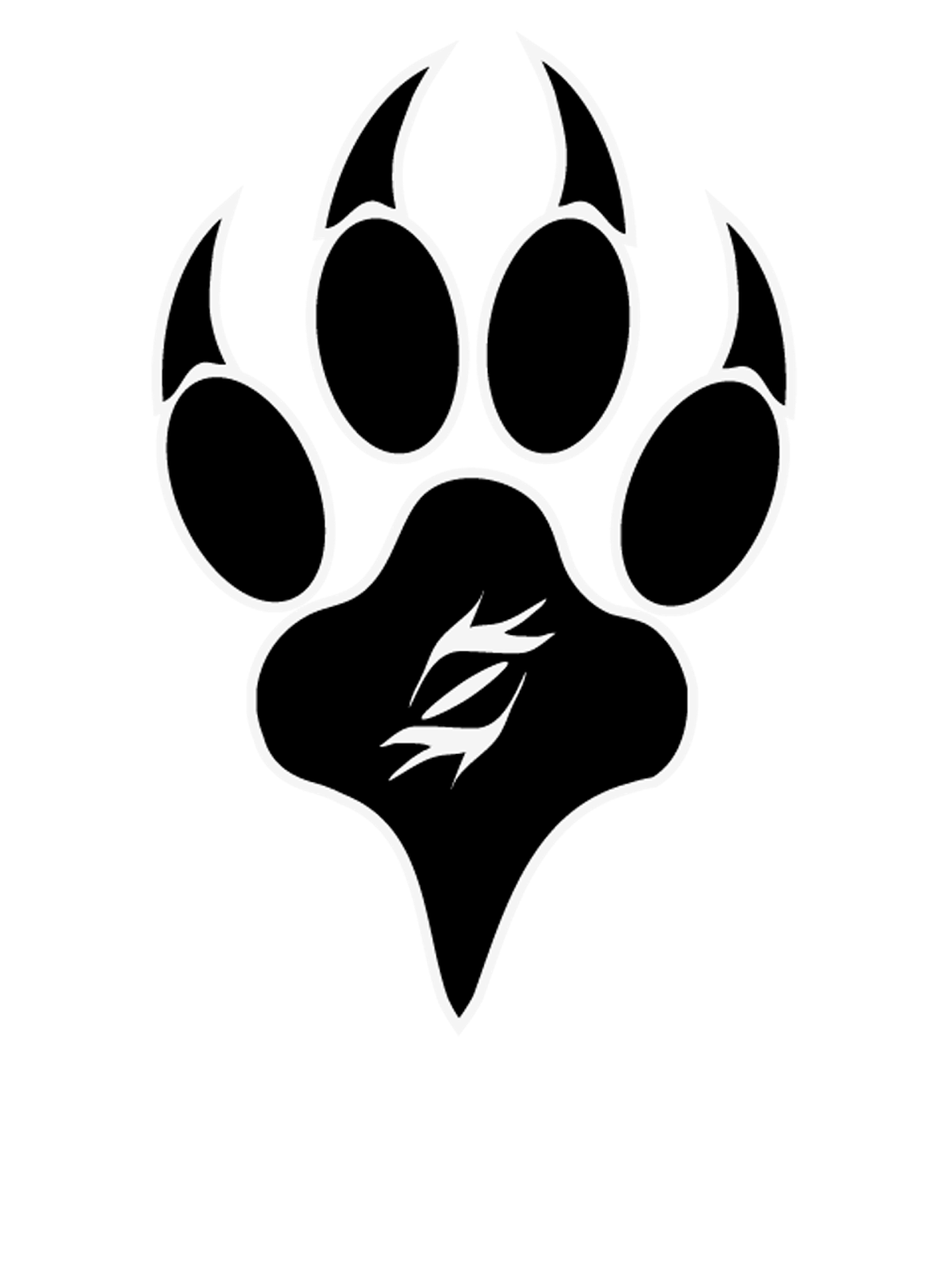 Wolf pack logo design - photo#11