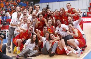BALONCESTO - EuroBasket femenino 2015: Quinto bronce europeo para España