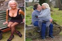 Vovó de 66 anos fica viúva, coloca silicone e arruma noivo 38 anos mais novo através do Facebook