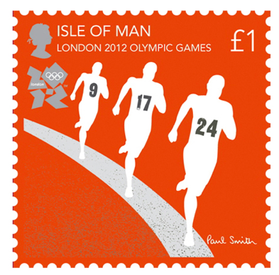 London 2012 Olympic Stamps from Isle Of Man Government