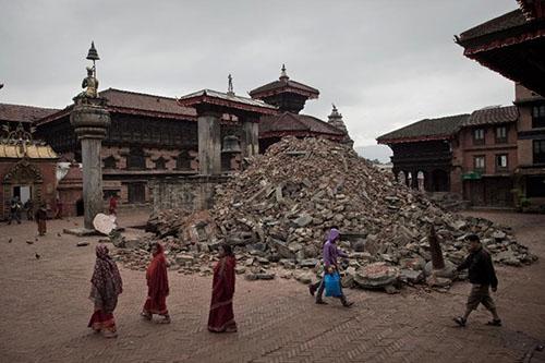 Sau động đất Nepal vắng bóng khách du lịch