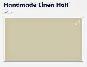 Dulux Handmade Linen Half Paint Picture