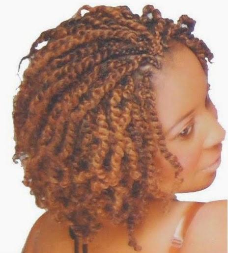penteado com tranças afro
