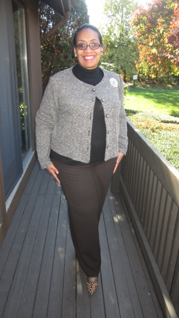 Tweed Ponte Jacket