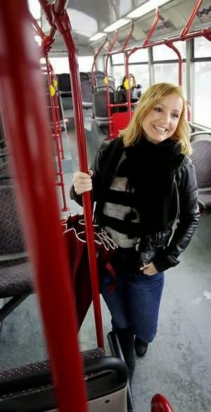 locución, bus urbano, Coruña, Genma Pardo, Sinatra, entrevista