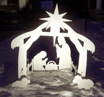 since our outdoor nativity figures are made for the outdoors it is