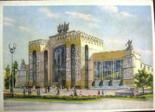Nueva Moscu de Stalin ,arquitectura Sovietica - Página 2 Pabellon+volga