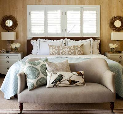 dormitorio matrimonial acogedor