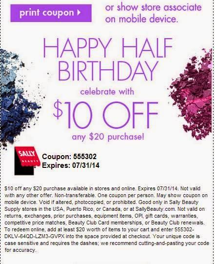 Sallys coupon code