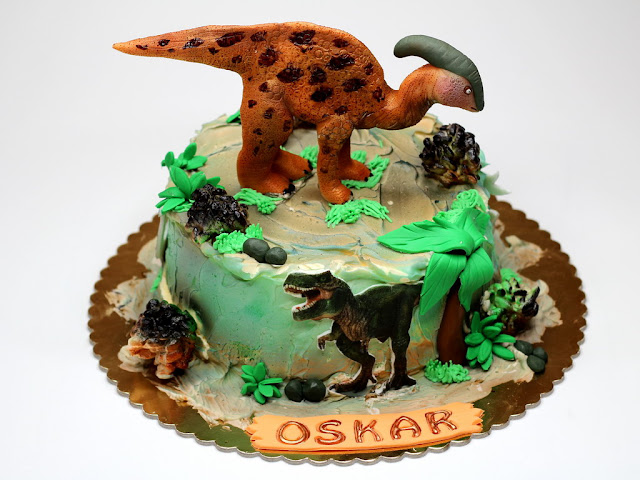 Jurassic Park Birthday Cake London