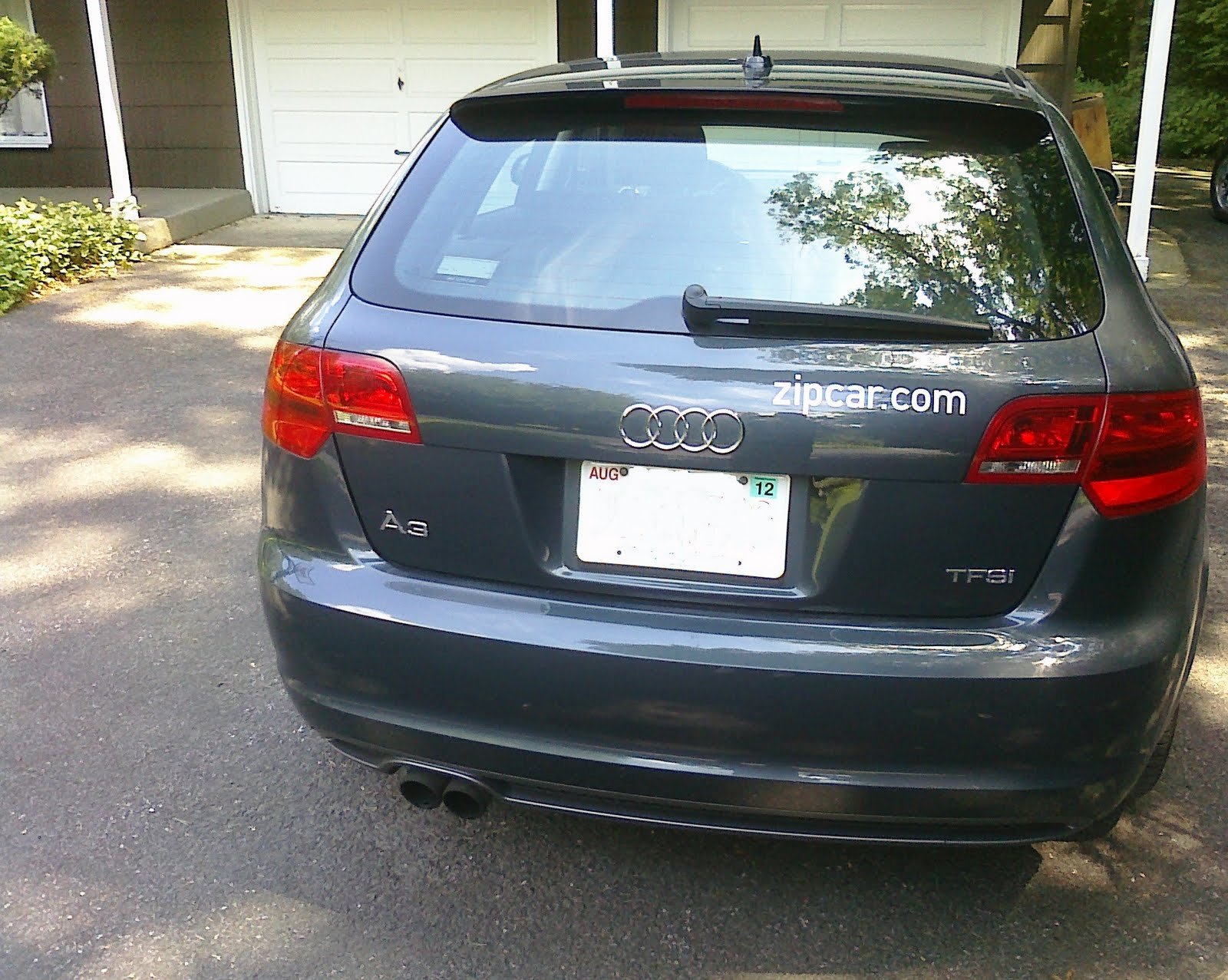 You Are What You Drive - A Car Blog: I Zipcar...and the Audi A3