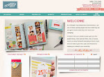 My Stampin' Up! Demo Website