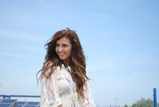 Poze de la filmarile primului videoclip ale Alinei (LaLa Band)