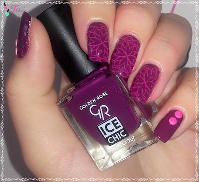 Golden Rose ICE CHIC 44 od beuty-styl oraz Lakier Do Stempil Od edbeauty