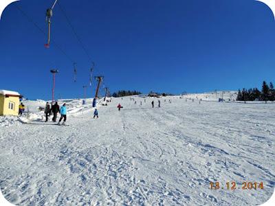 partia de ski la Straja