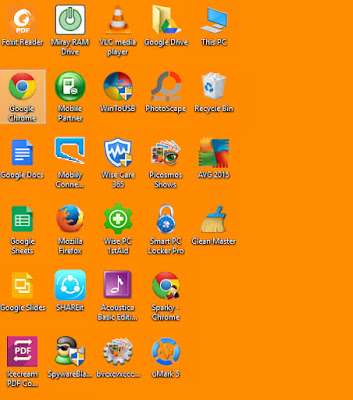 Desktop திரை