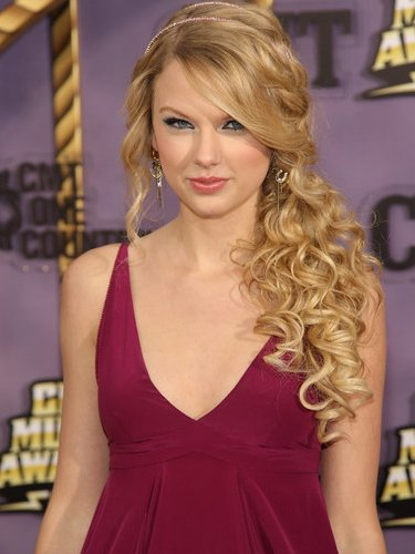 prom hairstyles half up half down with curls. prom hairstyles down and