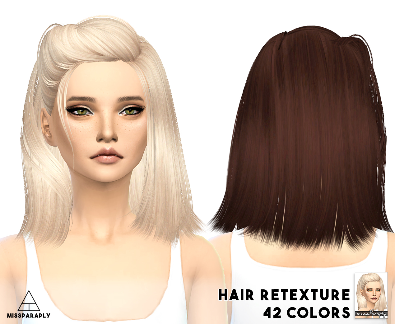 My Sims 4 Blog Skysims Hair Retexture For Females By