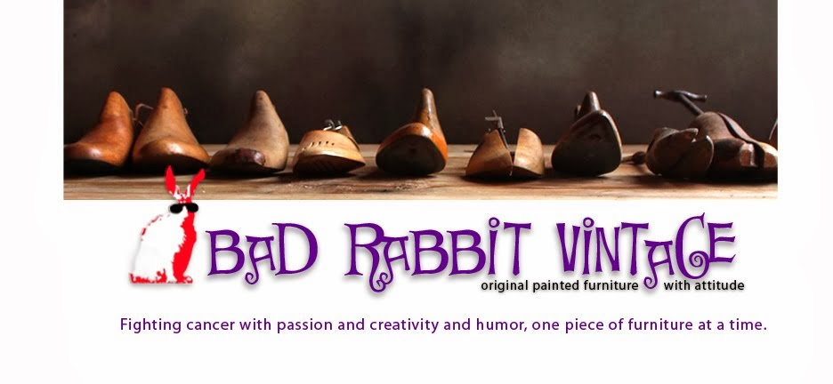 bad rabbit vintage - painted furniture with attitude