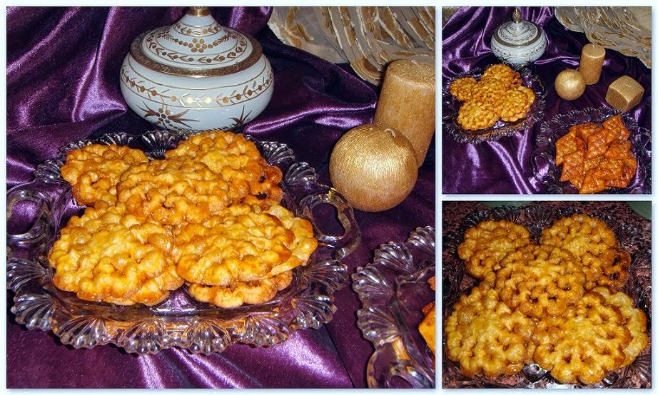 حلويات رمضان : حلوة الوردة مقلية سهلة التحضير واقتصادية