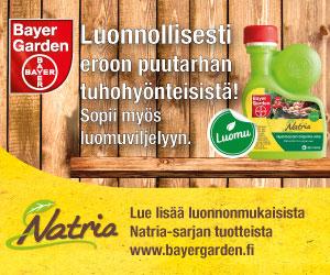Blogiyhteistyössä Bayer Garden