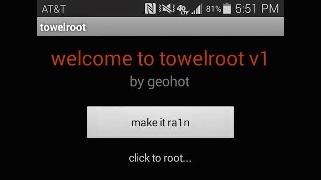 Cara Root Menggunakan Towelroot V3