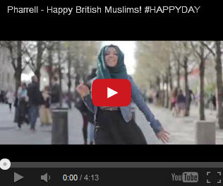 UK MUSLIMS DANCE ON HAPPY MUSIC ( watch video )