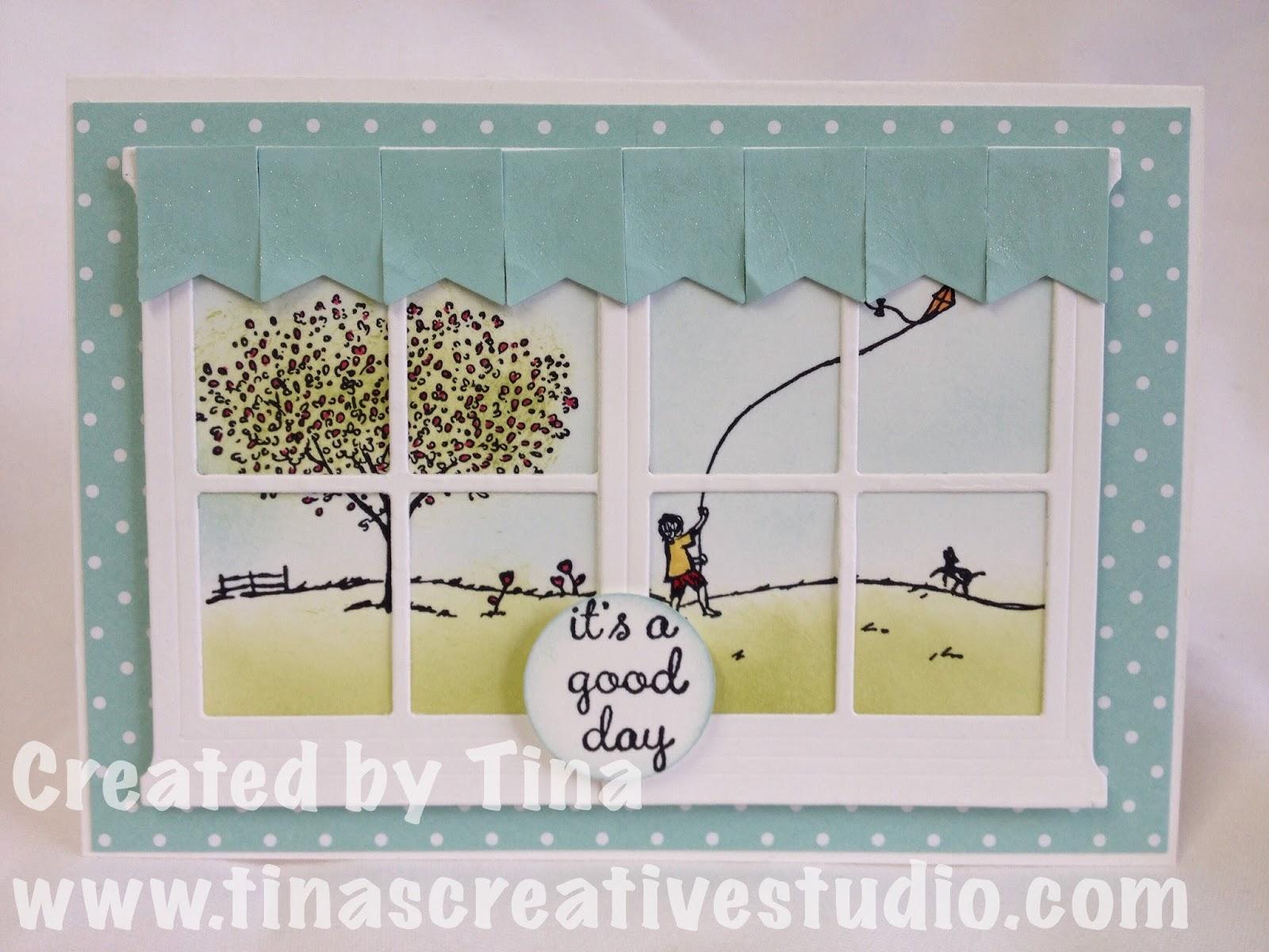 Tina\'s Creative Studio: Happy Home It\'s a Good Day card