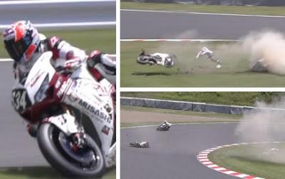 Gagal Finis, Stoner Kecelakaan di Race Suzuka 8 Hours