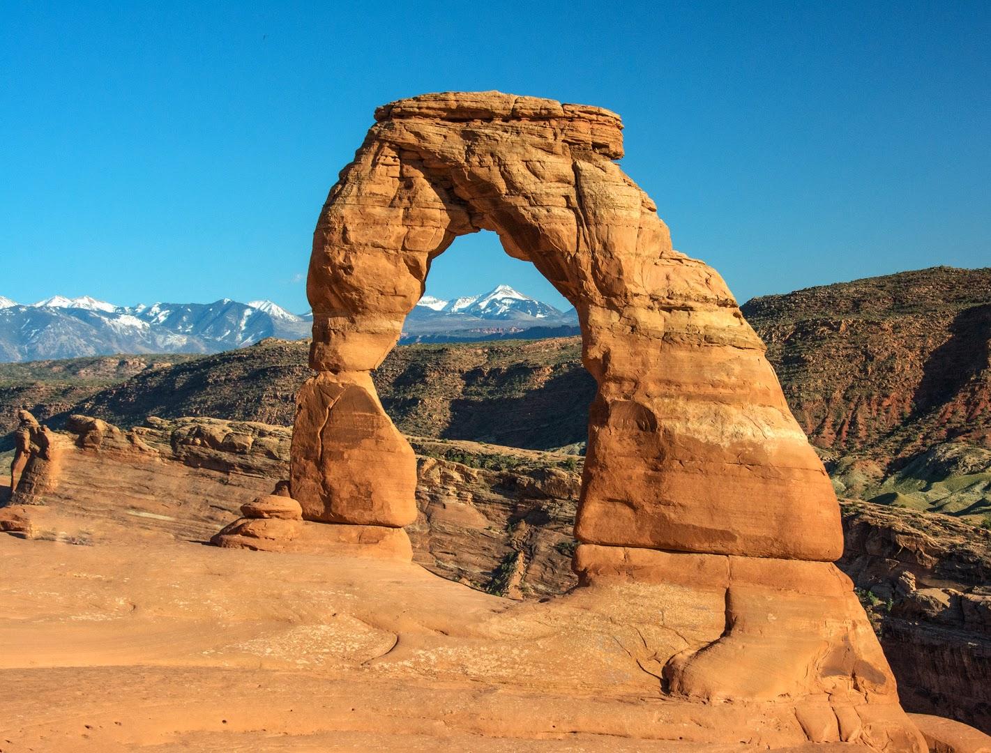 arches national park devil s garden mountain biking delicate