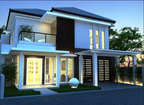 Rumah Minimalis 2 Lantai Trand 2017 Desain Rumah Minimalis 2017