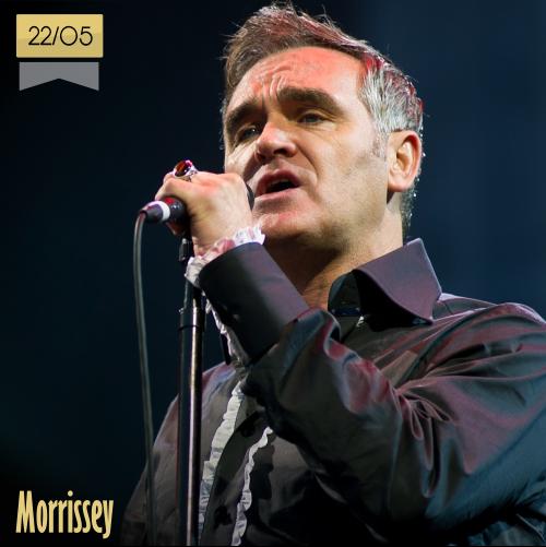 22 de mayo | Morrissey - @Mozzer_bot | Info + vídeos