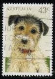 1991年オーストラリア ワイヤー・フォックス・テリアの切手