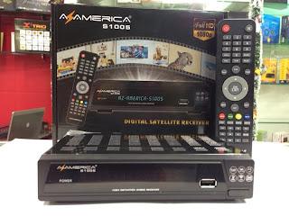AZAMERICA S1005 HD NOVA ATUALIZAÇÃO - 22/11/2013