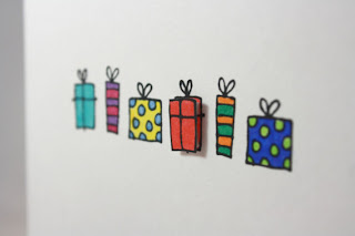 paper cutout greeting card