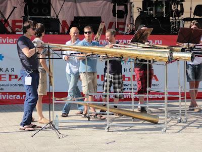 Рога Российского рогового оркестра