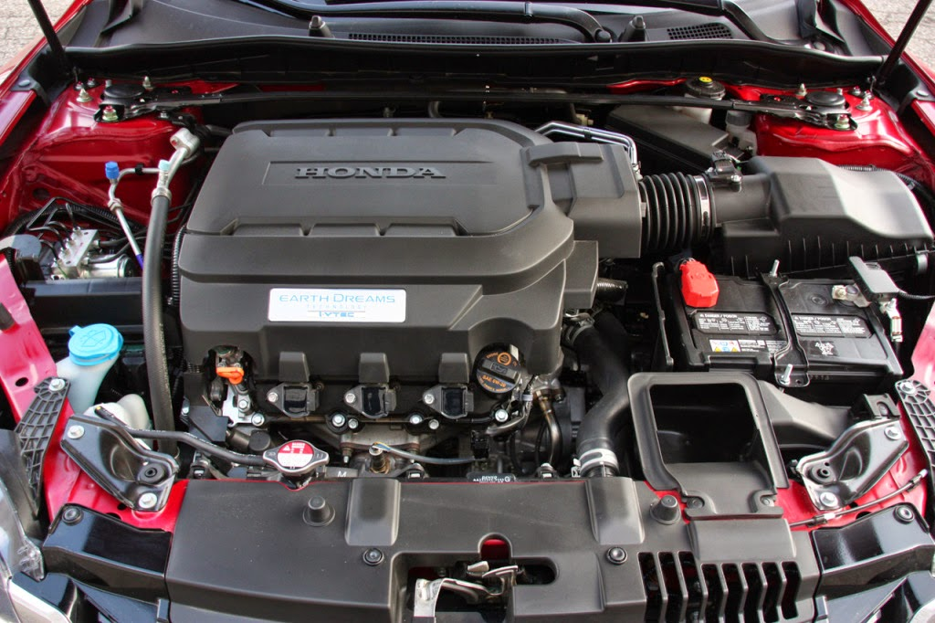 2016 Honda Accord Engine