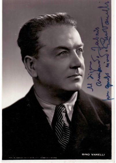 ITALIAN BARITONE GINO VANELLI (1896 - 1969) CD