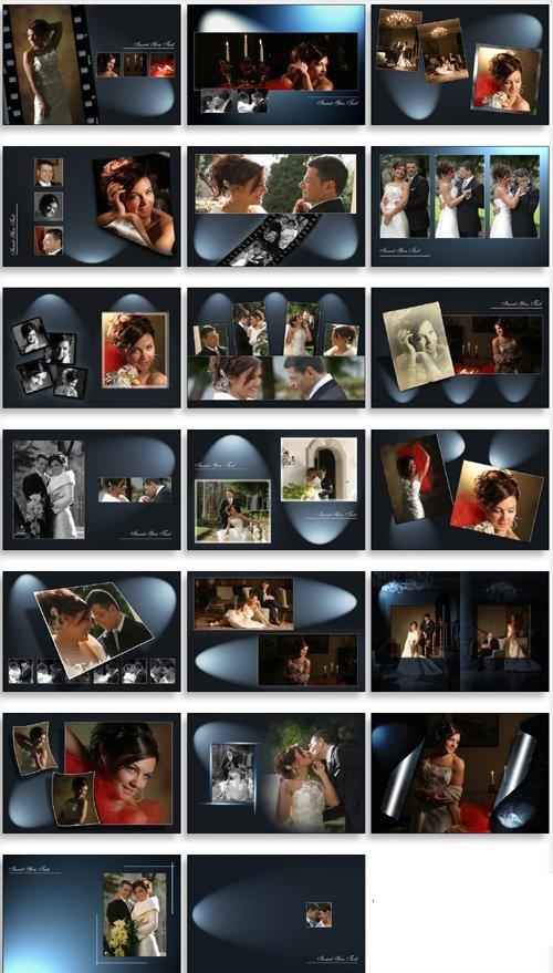 Creative Album PSD Wedding Collection VOL 11