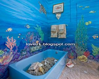 Nautical Bathroom Themes Decoration