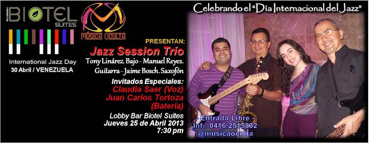 Día Internacional del Jazz 2013 en Barquisimeto
