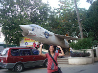 old plane in Marikit Park in Subic