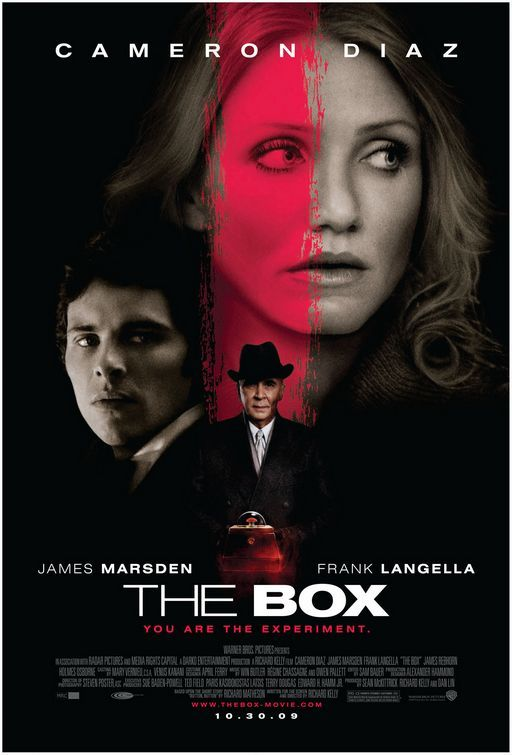 the box, movie, poster, film, locandina