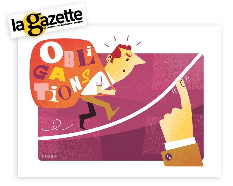 Illustration Gazette chronique Mot du Mois