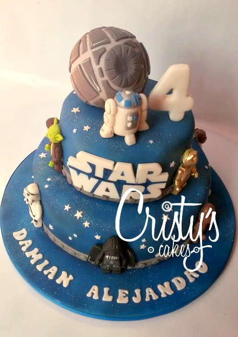 Super Cristy's Cakes: Star Wars Lego para Damian Alejandro DS42