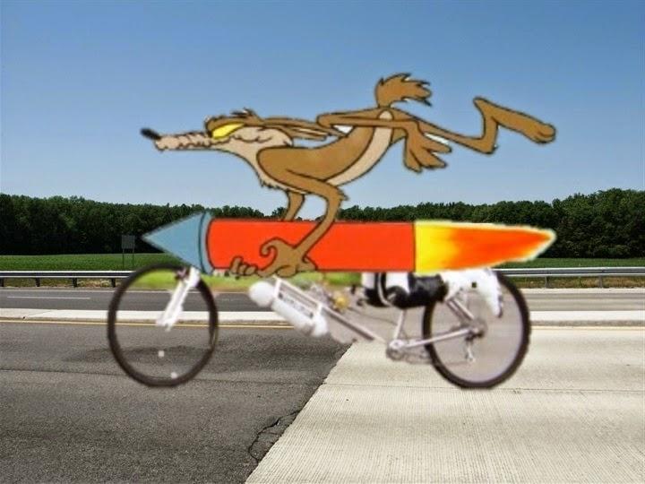 The Retrogrouch Rocket Bike Speed Record