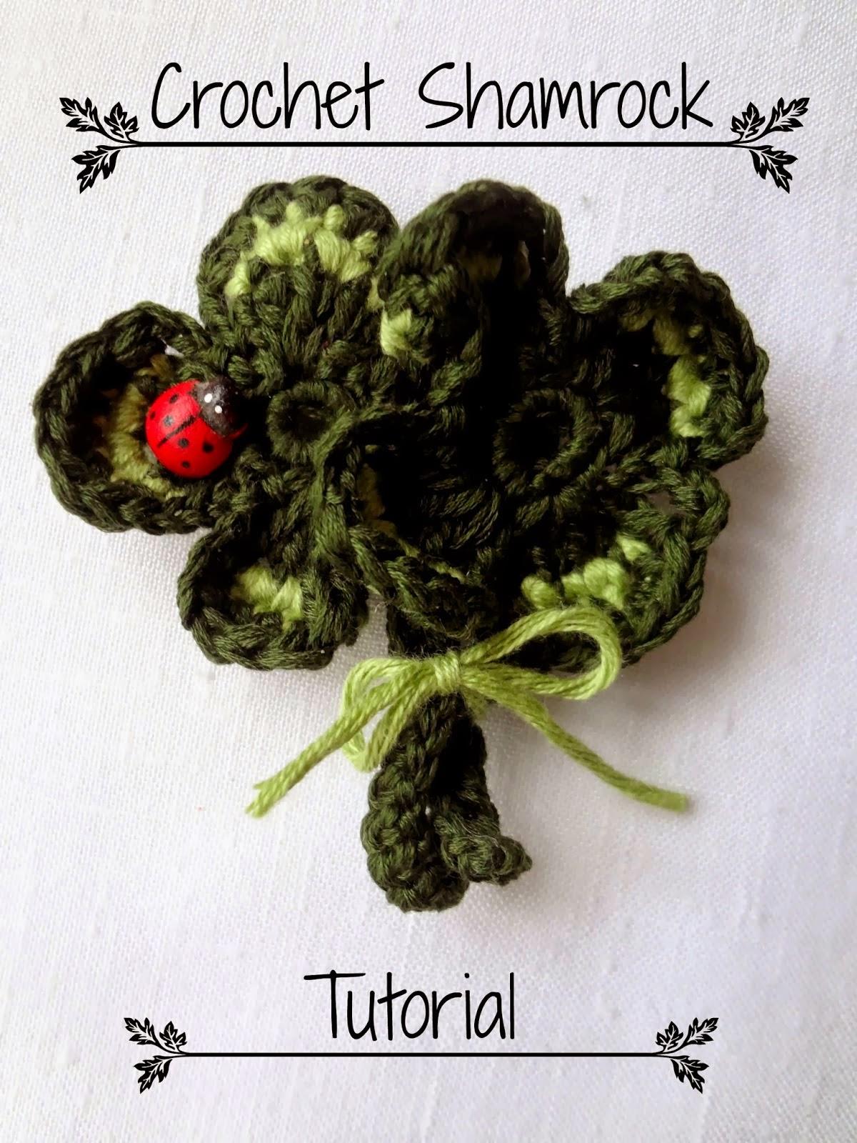 http://thelittletreasures.blogspot.com/2014/03/crochet-shamrock-tutorial-free.html