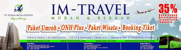 Paket Tour Istana Mulia Travel