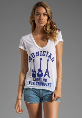 musician style t shirt girls