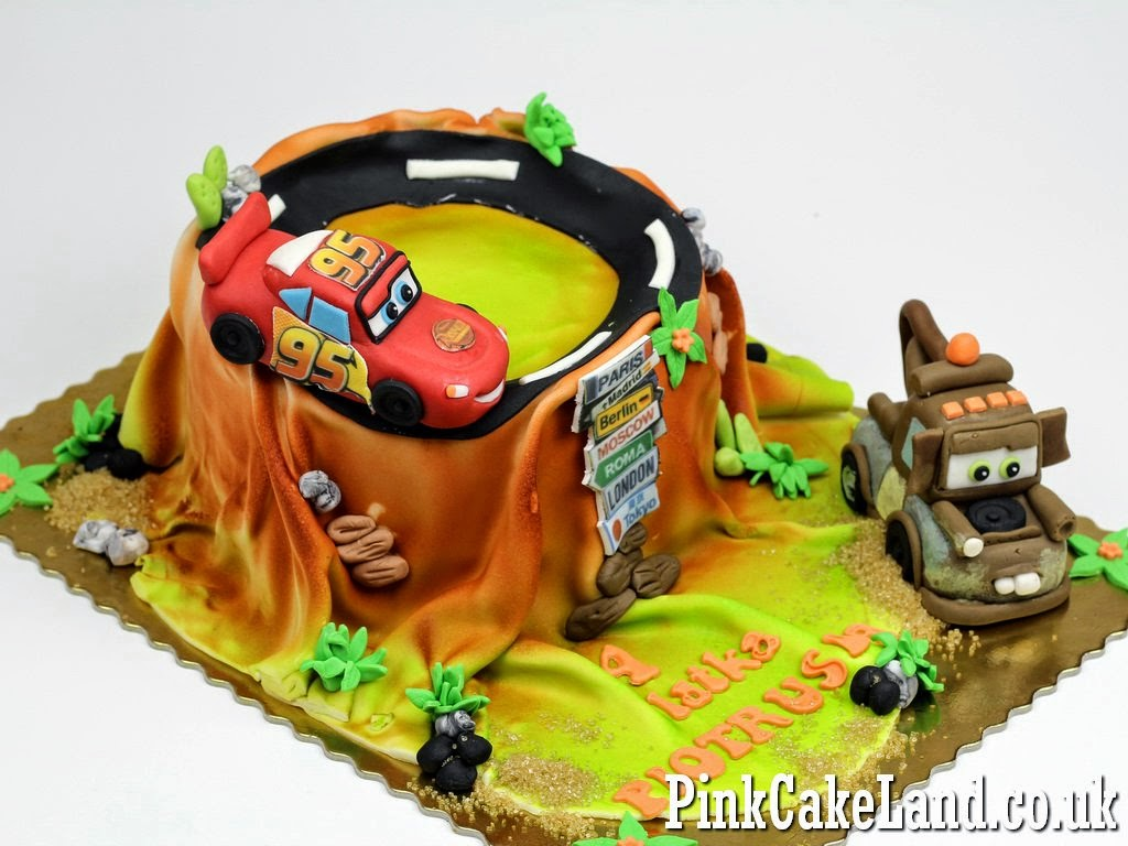 Cars Birthday Cake, Hounslow London